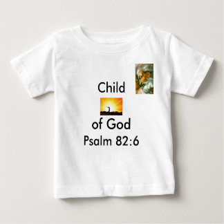 ESPIRITUALIDAD, GOD2, niño, de dios, 82:6 del Tshirts