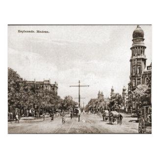 Esplanade, Madras Postcard