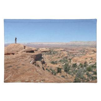 Esplanade Panorama Thunder River Grand Canyon Cloth Placemat