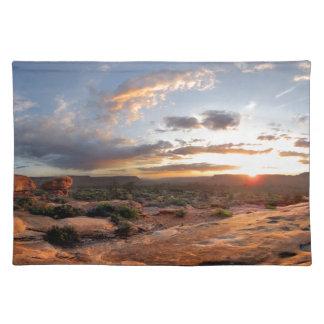 Esplanade Sunset - Grand Canyon - Thunder River Placemat