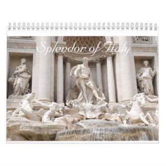 Esplendor de Italia Calendarios De Pared
