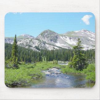 Esplendor de la montaña de Colorado Tapetes De Ratón