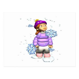 Esplendor del invierno postales