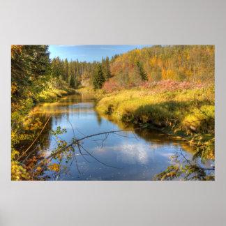 Esplendor del otoño póster