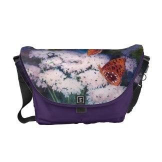 Esplendor en la bolsa de mensajero de la mariposa  bolsa messenger