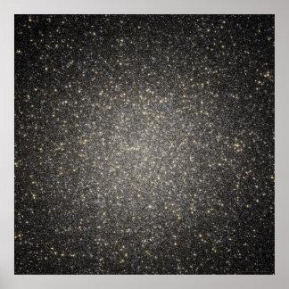 Esplendor estrellado en Omega 52x52 Centauri (36x3 Impresiones