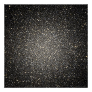 Esplendor estrellado en Omega 52x52 Centauri (36x3 Póster