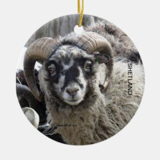 Espolón de Shetland Ornaments Para Arbol De Navidad