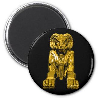 Espolón egipcio imán redondo 5 cm