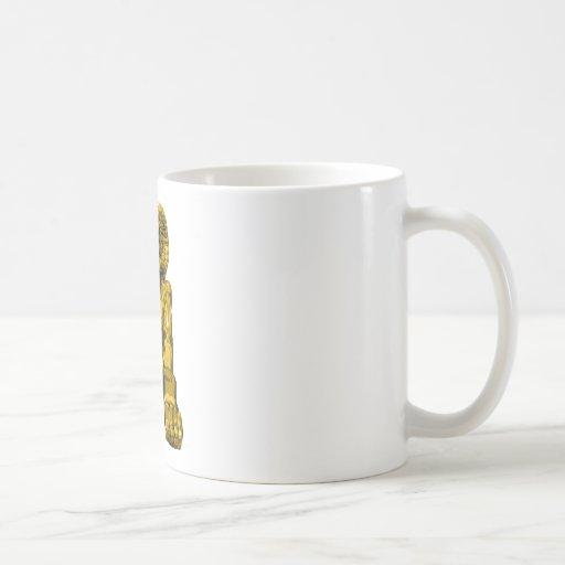 Espolón egipcio taza de café