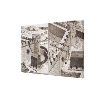 Espolones de estropicio romanos, del 'DES S de Enc Impresión En Lienzo Estirada