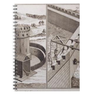 Espolones de estropicio romanos, del 'DES S de Enc Spiral Notebook