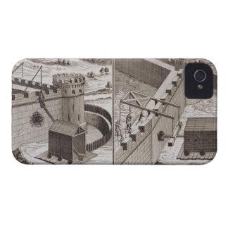 Espolones de estropicio romanos, del 'DES S de iPhone 4 Protector