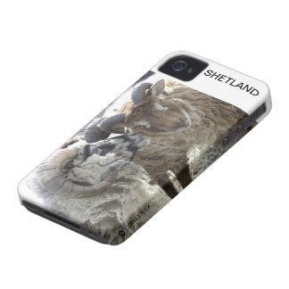 ESPOLONES DE SHETLAND CARCASA PARA iPhone 4 DE Case-Mate