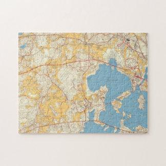 Espoo 1960 palapeli | Map Puzzle
