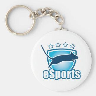 esports_1 basic round button keychain