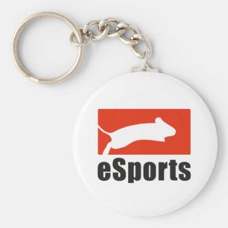 esports_2 basic round button keychain