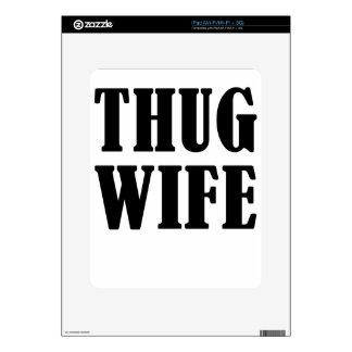 esposa calcomanías para iPad