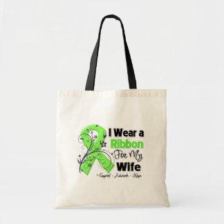 Esposa - cinta del linfoma bolsa de mano
