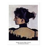 Esposa de Berthe Jacques del artista de Ferdinand  Postal