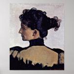 Esposa de Ferdinand Hodler - de Berthe Jacques del Impresiones
