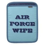 Esposa de la fuerza aérea de la manga de Ipad