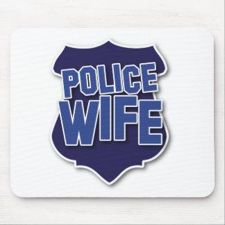 esposa de la policía tapetes de raton