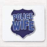esposa de la policía tapetes de ratones
