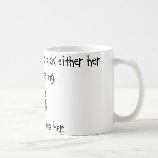 Esposa de la selección o el bucear taza