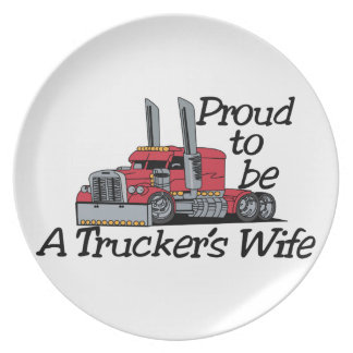 Esposa de los camioneros plato de cena