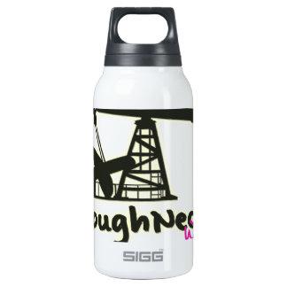 Esposa de los matones del campo petrolífero botella isotérmica de agua
