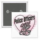 Esposa de los oficiales de policía pins