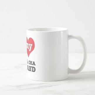 esposa del cha del cha del cha tazas de café