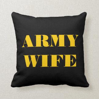 Esposa del ejército de la almohada