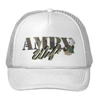 esposa del ejército gorras