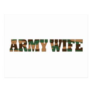 Esposa del ejército postal
