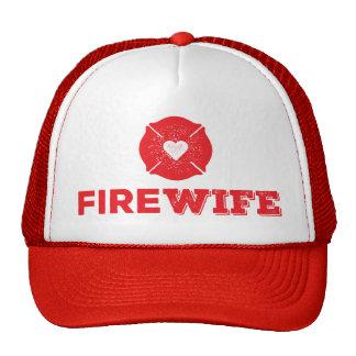 Esposa del fuego gorras
