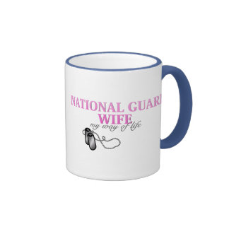 Esposa del Guardia Nacional, mi manera de vida Taza De Dos Colores