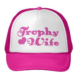 Esposa del trofeo gorras de camionero