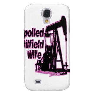 Esposa estropeada rosa del campo petrolífero