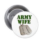 esposa-etiquetas del E.E.U.U.-ejército Pins