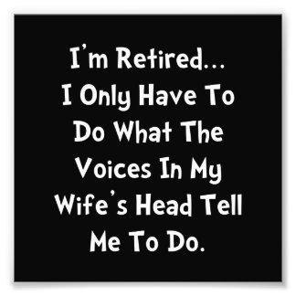 Esposa jubilada cojinete