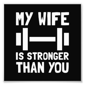 Esposa más fuerte cojinete