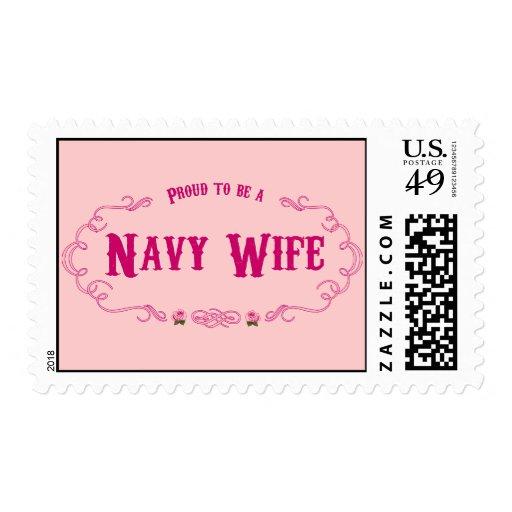 Esposa orgullosa de la marina de guerra envio