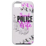 Esposa orgullosa de la policía iPhone 5 carcasa