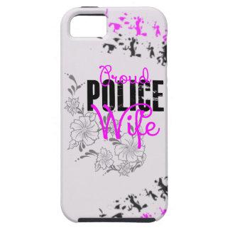 Esposa orgullosa de la policía iPhone 5 funda
