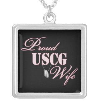 Esposa orgullosa de USCG Joyerias Personalizadas