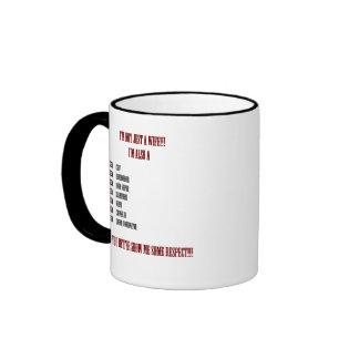 Esposa que dice la taza de café