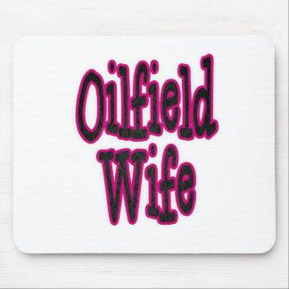Esposa rosada/negra del campo petrolífero del dama