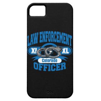 Esposas del agente de la autoridad de Colorado iPhone 5 Case-Mate Protectores